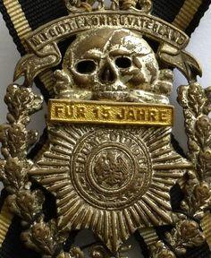 Totenkopf Husar Danzig Langfuhr Leibhusar Abzeichen Elite Kavallerie | eBay