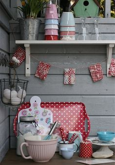Kitchen greengate and melamine