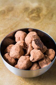 Raw Chocolate Truffles - The Raw Chef