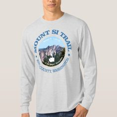 Mount Si Trail T-Shirt   hiking gear backpacking, hiking themed wedding, montana hiking #Anniversary #anniversarygift #Valentines, 4th of july party Hiking Gear List, Hiking Checklist, Hiking Bag, Hiking Tips, Camping Gear, Mountain Hiking Outfit, Mount Si, Osprey Backpacks