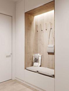 깔끔하고 실용적인 현관 인테리어 : 네이버 블로그 Home Entrance Decor, House Entrance, Home Decor, Hall House, Entrance Ideas, Minimalist Home Interior, Modern Interior Design, Modern Kitchen Design, Apartment Interior