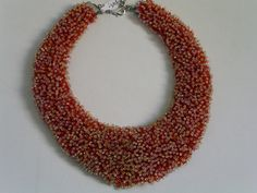 collier, rocailles