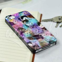 Funny Cute Cats Kitten Animal for iPhone 5/5c/6/6 Plus Hard Case #UnbrandedGeneric