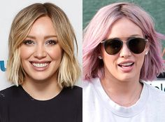 Hilary Duff Debuted Another New Hairstyle: Check Out Her Bubblegum Bob Hilary Duff