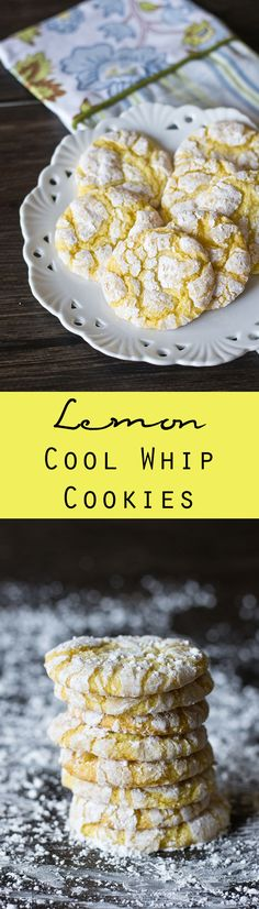 Lemon Cool Whip Cookies on MyRecipeMagic.com. 4 ingredients make up these delightfully simple Lemon Cool Whip Cookies. Make these cookies to fit any occasion by switching the flavor of cake mix! Read more at http://myrecipemagic.com/recipe/recipedetail/lemon-cool-whip-cookies#eAdw3408FSrVli3I.99