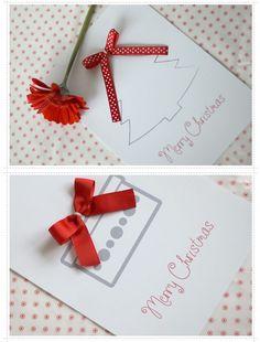 Super leuke kerstkaarten om zelf te maken!
