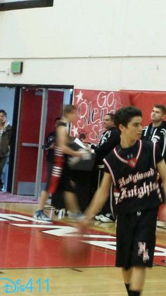 Photos: Cameron Boyce Playing With His Hollywood Knights Basketball Team March 25, 2014