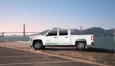 VIA Motors extended-range electric truck. 100+mpg, 402Hp, near zero emissions with a 150Kw on-board generator that can power your power tools or even your home in an emergency.  VIA Motors specializes in #electrictrucks, #electricvans, #electricSUVs  http://www.viamotors.com  http://www.facebook.com/viamotors