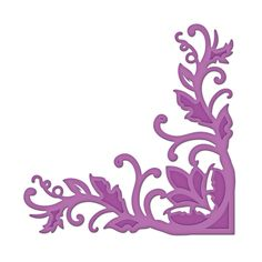 Spellbinders - Shapeabilities Collection -  D-Lites - Die Cutting and Embossing Template - Fantastic Flourish Two at Scrapbook.com $