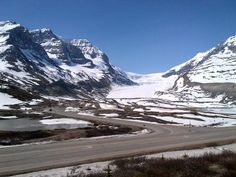 Athabasca glacier at Columbia Icefields - Rocky Mountaineer - www.lushlife.ca