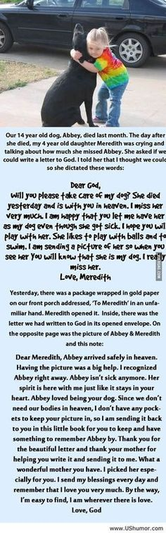 This made me ball my eyeballs out. My dog Pepper died on Sunday and this.....this just touched to close to home. I miss my furry babies, all of them, whether they died or we had to give away, I miss them every single day with every fiber of my being.