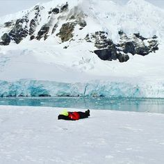 Reconnecting to the Biosphere - Lisen Schultz reporting in for #SRCFieldWork & #SRCinAction - What I miss the most from this journey is lying down on the ice, immersed in this place, doing absolutely nothing but letting the majesty, sheer scale and beauty of Antarctica wash over me. Feeling the cold against my back and the wind against my cheeks. Absorbing the sounds of moving glaciers and penguin calls and the calming view of mountains, ice and ocean. Observing the dance between slow…