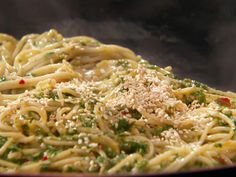 Thai-Style Pesto with Rice Pasta Recipe : Rachael Ray : Food Network - FoodNetwork.com