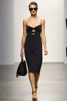 Love the top part of this dress    Rachel Comey s/s 2013
