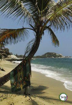 Tácito playa brisa y mar.