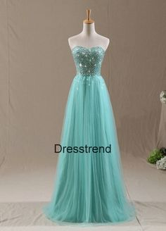 Long  Prom Dress  Tiffany Prom Dress / Formal by DressTrend, $189.99