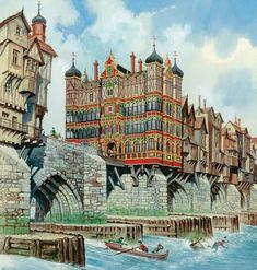 The old London bridge.