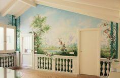 Dipinti Murali E Pittura Ad Ago : 17 fantastiche immagini su trompe loeil design della parete