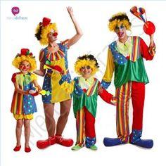 #Disfraces de #Carnaval de #Payasos de Colores para grupos #mercadisfraces tienda de #disfraces online, #disfraces #originales y baratos para tus fiestas de #carnaval o #halloween