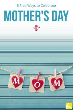 Mother's Day Celebration Ideas: 6 Free Ways Love Parents, Free Ebooks, Cool Things To Make, Jasmine, Kid Stuff, Mothers, Diy Ideas, Finance, Celebration