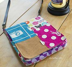 709 Evelyn Tablet Bag PDF Pattern  - ithinksew.com
