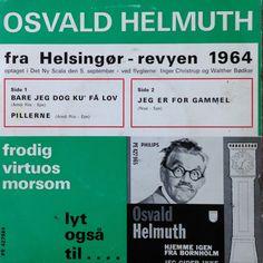 Revy-vise på vindermelodien fra Italien 1964. Sunget af Osvald Helmut. Pænt cover, men pladen har et par hak.