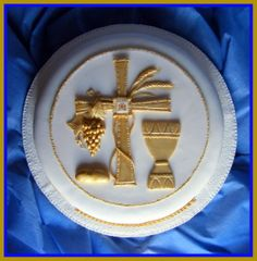 My first holy communion cake 6