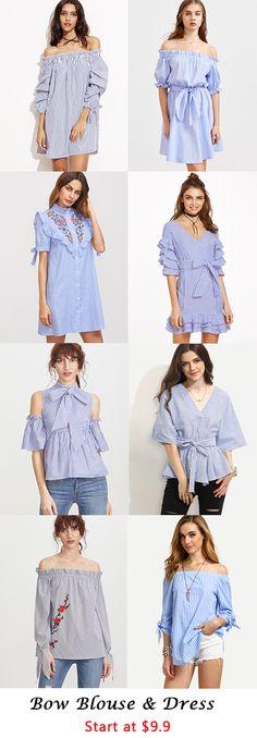 Bow Blouse & Dress