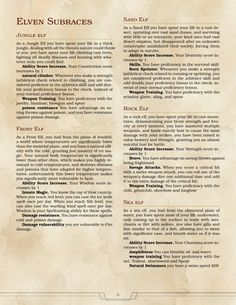 DnD Homebrew — Elven Subraces by Dungeons And Dragons 5e, Dungeons And Dragons Homebrew, Twilight Princess, Dnd Elves, Science Fiction, Dnd Classes, Dnd 5e Homebrew, Dragon Rpg, Dnd Monsters