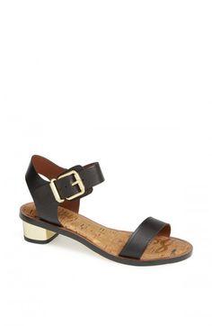 59c94f07ea57 Sam Edelman Trina Sandals Black Leather 10