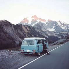 You should consider going on a camping trip. Read this article for some useful camping tips Adventure Awaits, Adventure Travel, Wolkswagen Van, Videos Mexico, Transporter T3, Bus Camper, Vw Bus, Kayak, Wanderlust