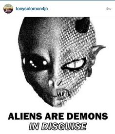 aliens-just fallen angels or demons. And they are dangerous. Best Books To Read, Good Books, Unclean Spirits, Angels And Demons, Fallen Angels, Unexplained Phenomena, Demonology, Church History, Freedom Of Speech