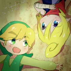 Chibi Tetra and Link, The Legend of Zelda: The Wind Waker