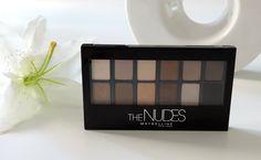 Le blog de Laura: The Nudes de Maybelline, une palette intelligente