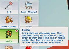 My Sims 4 Blog: Loving Trait by VerySimmly