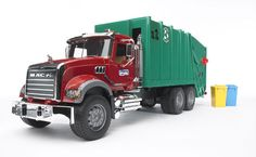 02812A - Bruder MACK Granite Garbage Truck