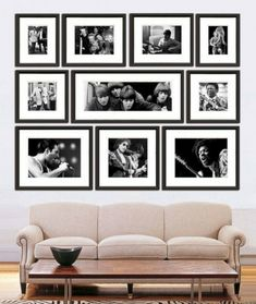 59 Best Photo Wall Collage Bedroom Layout Picture Arrangements Part 40 1 Inspiration Wand, Photowall Ideas, Picture Arrangements, Frame Arrangements, Photo Displays, Display Photos, Frames On Wall, Picture Frames, Picture Walls