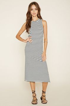 Striped Bodycon Dress | Forever 21 - 2000171689