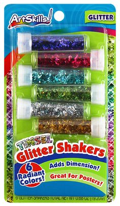 Tinsel Glitter Shakers