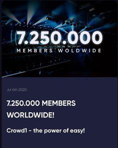 "Crowd1 Earner on Instagram: ""Go Go Go! #crowd1 #crowd1event #nothingisimpossible #economy #teamworkmakesthedreamwork #teamwork"" Teamwork, Instagram"