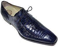 Mezlan Platinum Custom # 3729 at AlligatorWorld.com - Exotic Skin Shoes