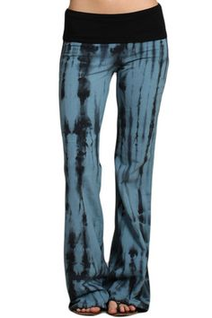 Womens Blue  http://www.destyniboutique.com/collections/all-juniors-pants/products/copy-of-womens-blue-black-tie-dye-bootcut-palazzo-fashion-yoga-pants