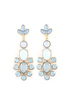 Sadie Earrings in Aspen Blue on Emma Stine Limited