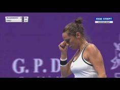 Kristina Mladenovic vs Roberta Vinci Petersburg 2017 Quarterfinal 1 SET