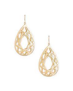Golden Cage Earrings