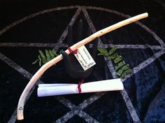 Basic Magical Herbs - Hyssop Ginger Hemlock - Witches Flying Ointment - Wands - Spells