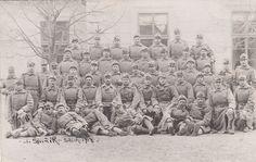 WW1 Austrian infantry regiment Archduke Karl Stefan Nr. 8 – RARE group photo