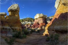 Paint Mines Colorado Springs. One of the 11 great North American hikes.