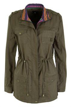 Ladakh clothing Its Combat Jacket - Womens Jackets - Birdsnest Fashion Clothing