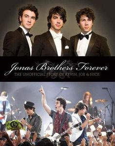 "Jonas Brothers Forever: The Unofficial Story of Kevin, Joe & Nick by Susan Janic - Jam-packed with photos, this is the only complete guide to the amazing world of the ""JoBros""-the life and career of this talented trio. (Bilbary Town Library: Good for Readers, Good for Libraries)"